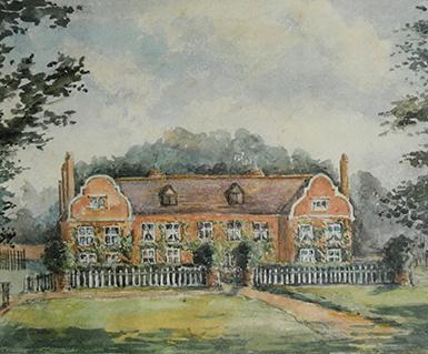 Watercolour-Saling-Hall