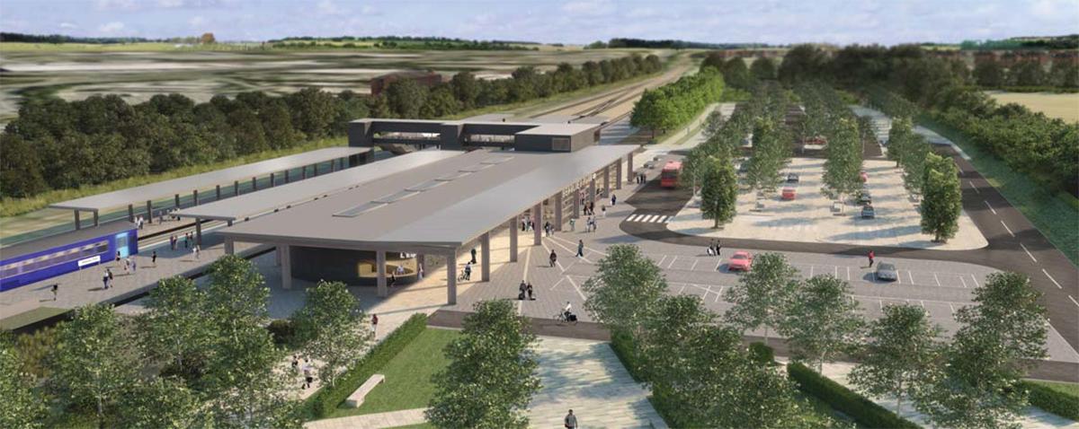 beaulieu proposed train station